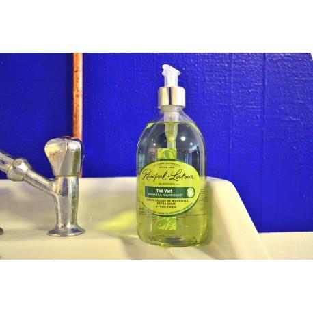 Pompe Savon Liquide de Marseille The Vert 500ml