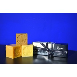 """Coffret """"Les Cubes de Provence"""" 3X100gr"""
