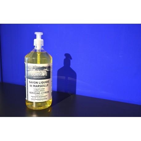 Pompe Savon de Marseille Liquide Verveine-Citron 1L