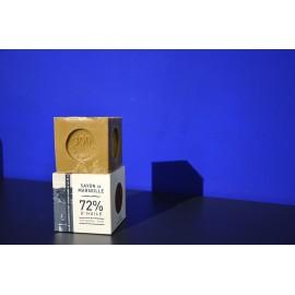 Cube Savon de Marseille Olive Boîte 300gr