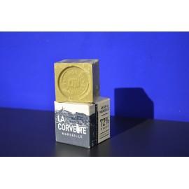 Cube Savon de Marseille Olive Boîte 100gr