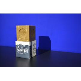 Cube Savon de Marseille Olive Boîte 500gr