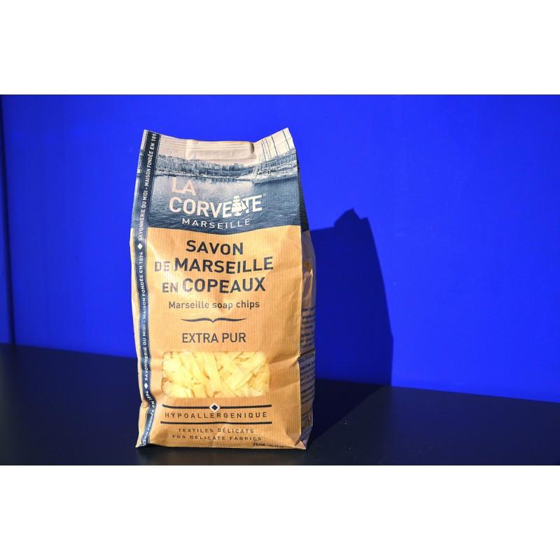Copeaux Savon de Marseille Extra Pur 750gr Place des huiles