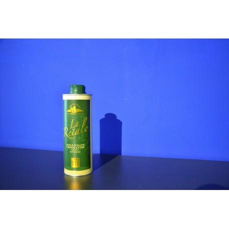 Huile d'olive vierge extra (fruité vert) - Reialo 50cl