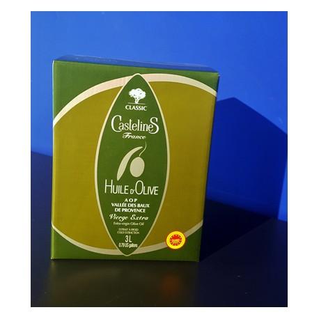 Classic - Huile d'olive vierge extra AOP Vallée des Baux -  3 L