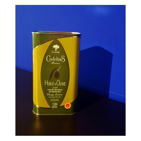Classic - Huile d'olive vierge extra AOP Vallée des Baux -  Bidon 1L