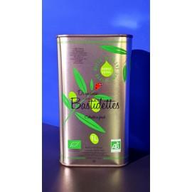 Huile d'Olive Biologique - Vierge Extra - Bidon 1L