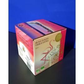 Jas des Sables - Huile d'Olive Vierge Extra Bio - Bag in Box 1.5 L