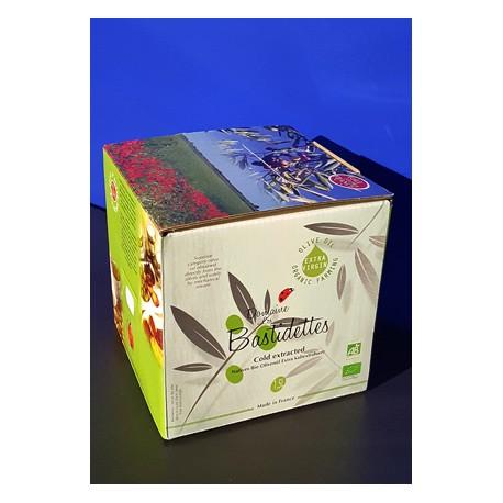 Huile d'Olive Biologique - Vierge Extra - Bag in Box 1.5 L