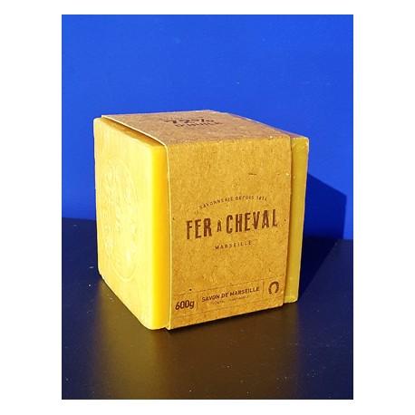 Cube Savon de Marseille Végétal 600gr