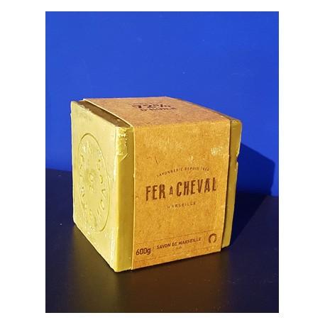 Cube Savon de Marseille à l'huile d'Olive 600gr