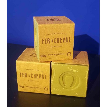 Cube Savon de Marseille à l'huile d'olive 100gr