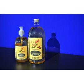 Savon liquide de Marseille - parfumé à l'Amande Amère - recharge 1 L
