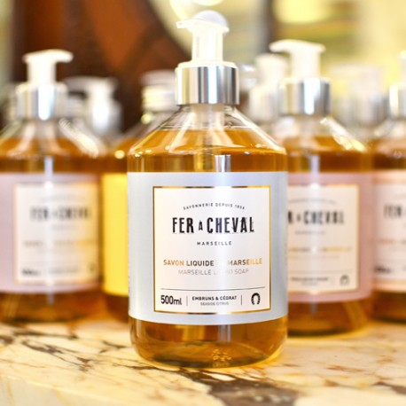 Savon liquide de Marseille parfumé - Embruns & Cédrat