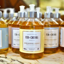 Savon liquide de Marseille parfumé - Thé blanc & Yuzu