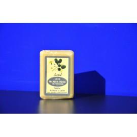 Savonnette à l'huile d'olive - parfumée au Santal 150g
