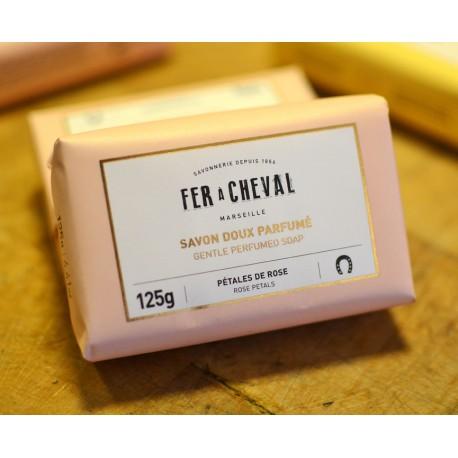 Savons doux parfumé - Pétales de rose