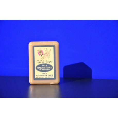 Savonnette au beurre de karité - parfumée au Miel de Bruyère 150g