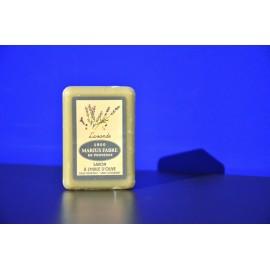 Savonnette à l'huile d'olive - parfumée à la Lavande 150g