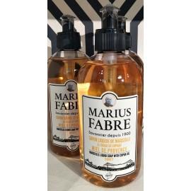 Savon liquide de Marseille - parfumé au Miel de Provence - 400 ml