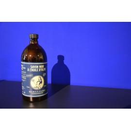 Savon Noir liquide à l'huile d'olive - recharge 1L