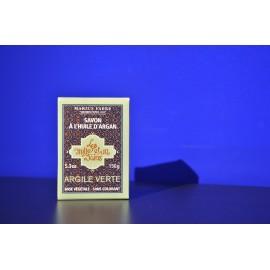 Savonnette à l'huile d'argan et à l'Argile Verte 150gr