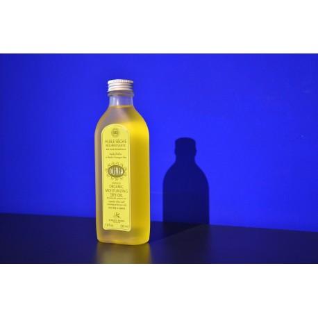 Huile sèche à l'huile d'olive et à l'huile d'onagre Bio 230ml